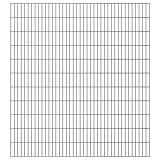 vidaXL 2D Panneaux de clôture de jardin 2008 x 2230 mm 32 m Gris