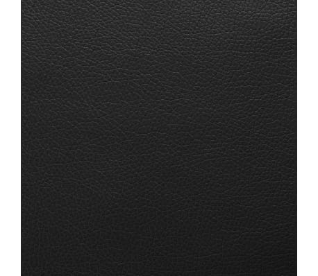 vidaxl kunstleder meterware 1 4x36 m schwarz g nstig kaufen. Black Bedroom Furniture Sets. Home Design Ideas