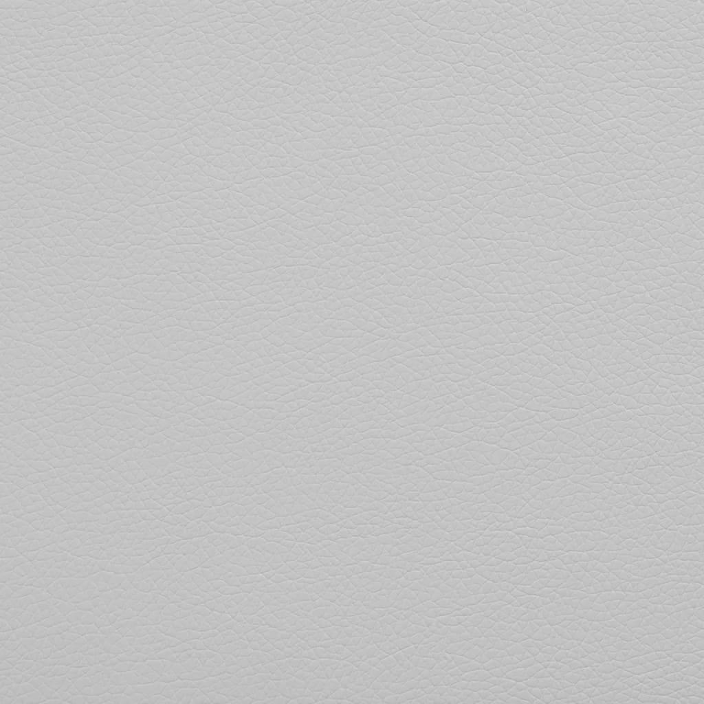 vidaXL Material piele artificială, 1,4 x 9 m, alb imagine vidaxl.ro