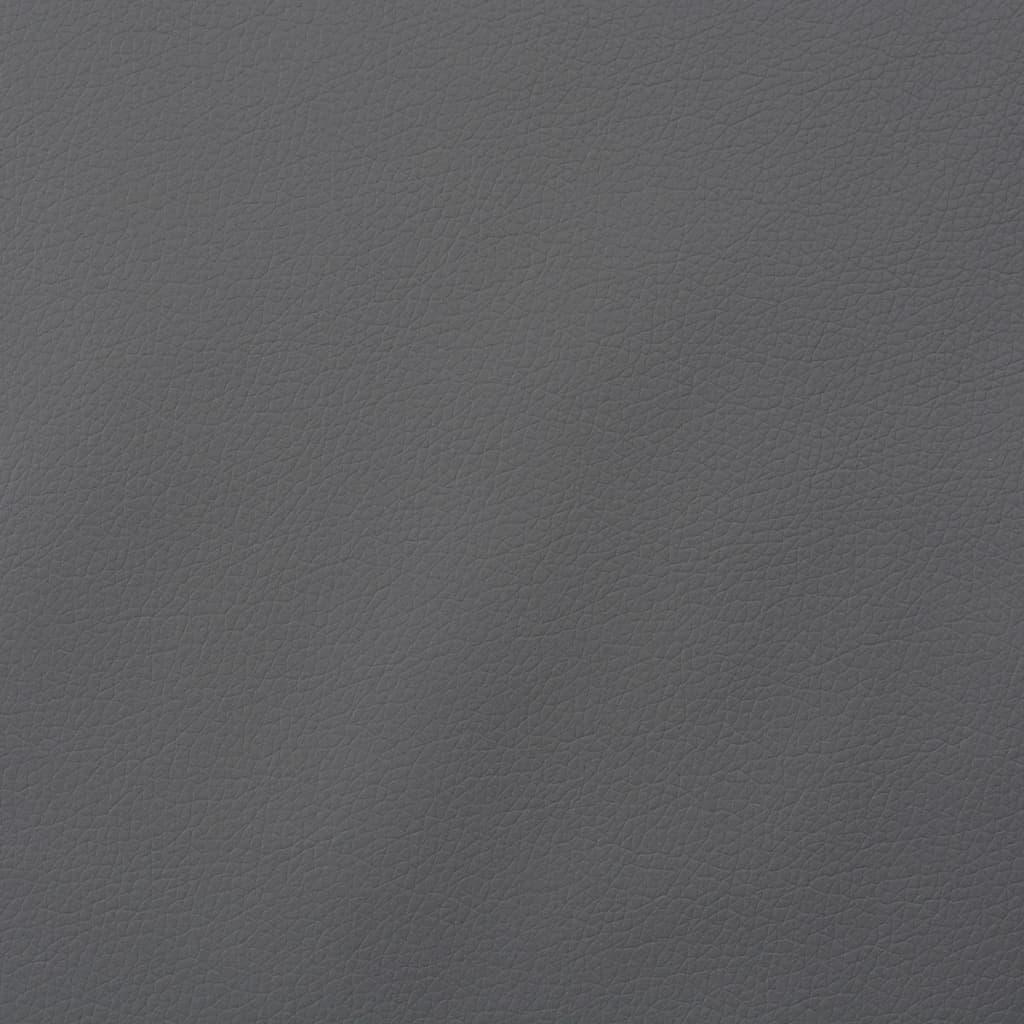 vidaXL Material din piele artificială, 1,4 x 4 m, gri imagine vidaxl.ro