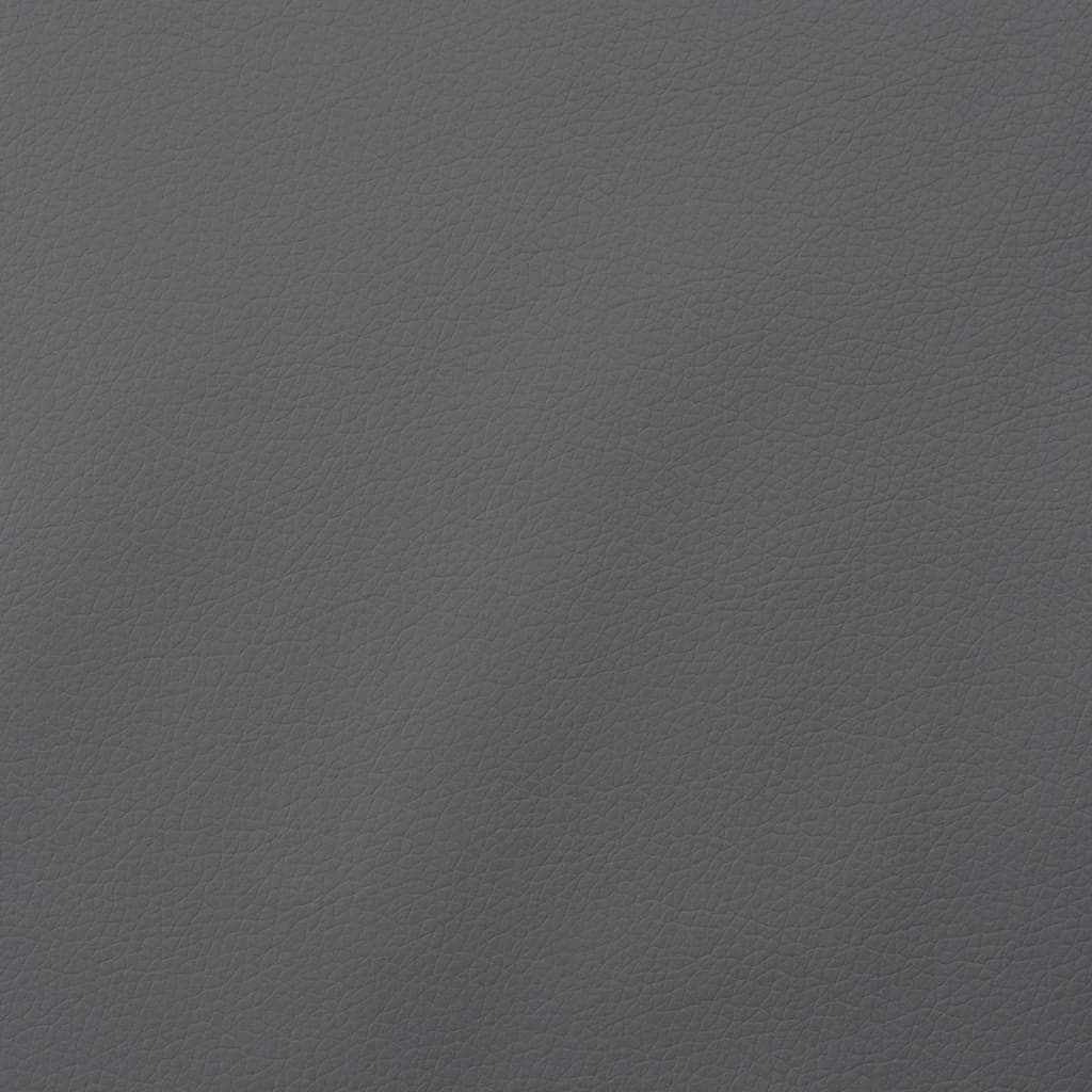 vidaXL Material din piele artificială, 1,4 x 18 m, gri imagine vidaxl.ro