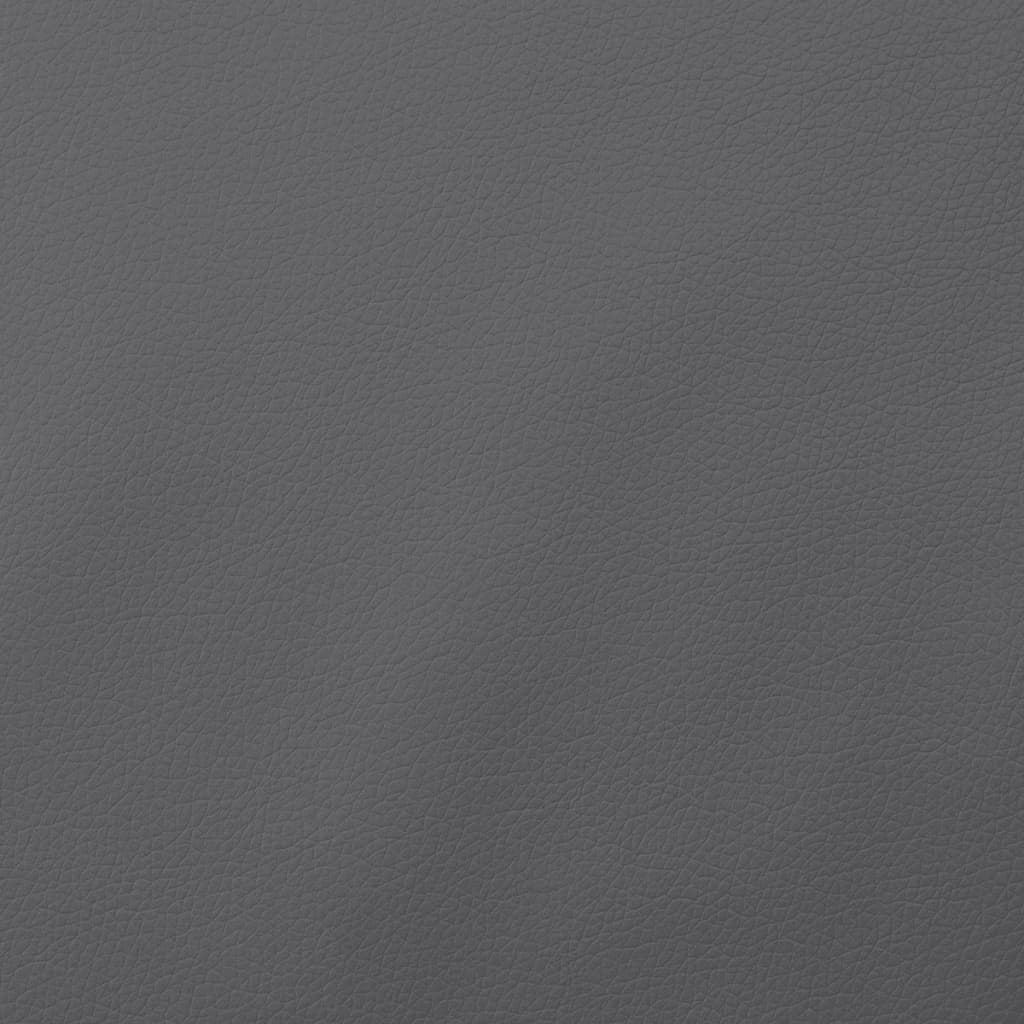 vidaXL Material piele artificială, 1,4 x 36 m, gri imagine vidaxl.ro