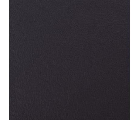 vidaXL Tissu en cuir artificiel 1,4 x 18 m Marron[1/2]