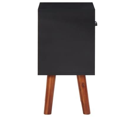 vidaXL naktinis staliukas, akacijos mediena, 40x30x58 cm[4/5]