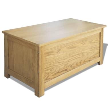 vidaXL uzglabāšanas kaste, 90x45x45 cm, ozolkoks[1/6]