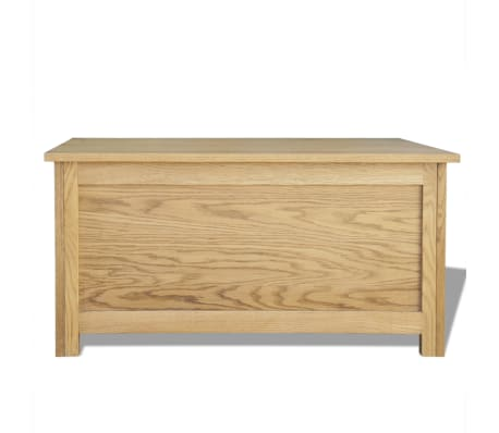 "vidaXL Storage Box Oak 35.4""x17.7""x17.7""[5/6]"