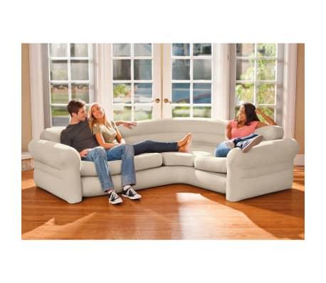 Intex Aufblasbares Ecksofa/Couch 257x203x76 cm 68575NP[1/4]