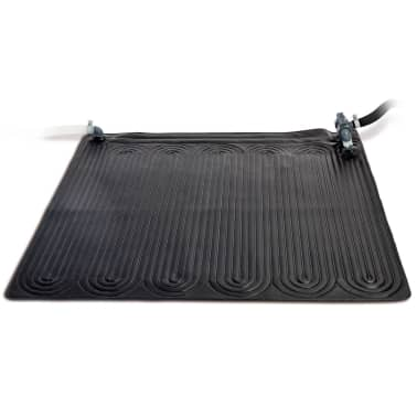 Acheter intex tapis solaire chauffant pvc 1 2x1 2 m noir for Tapis chauffant piscine