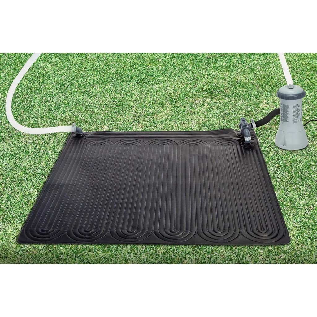 Intex Verwarmingsmat op zonne-energie PVC 1,2X1,2m Zwart 28685