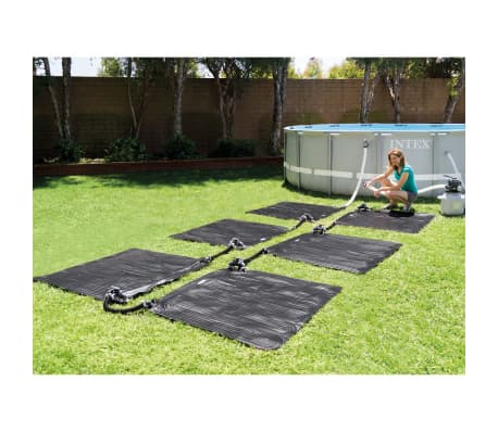 acheter intex tapis solaire chauffant pvc 1 2x1 2 m noir. Black Bedroom Furniture Sets. Home Design Ideas