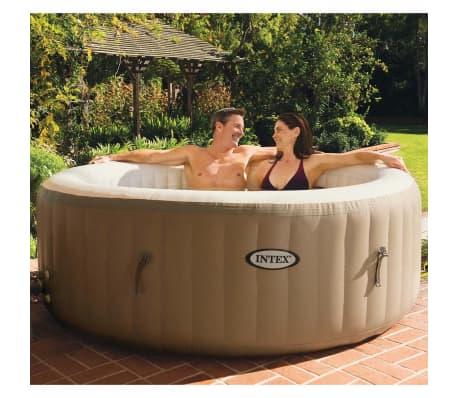 acheter intex purespa spa gonflable avec massage bulles 28404nl 196 x 71 cm pas cher. Black Bedroom Furniture Sets. Home Design Ideas