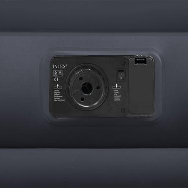 Intex Colchón hinchable con almohada PVC 152x203x42cm negro 64124[3/3]