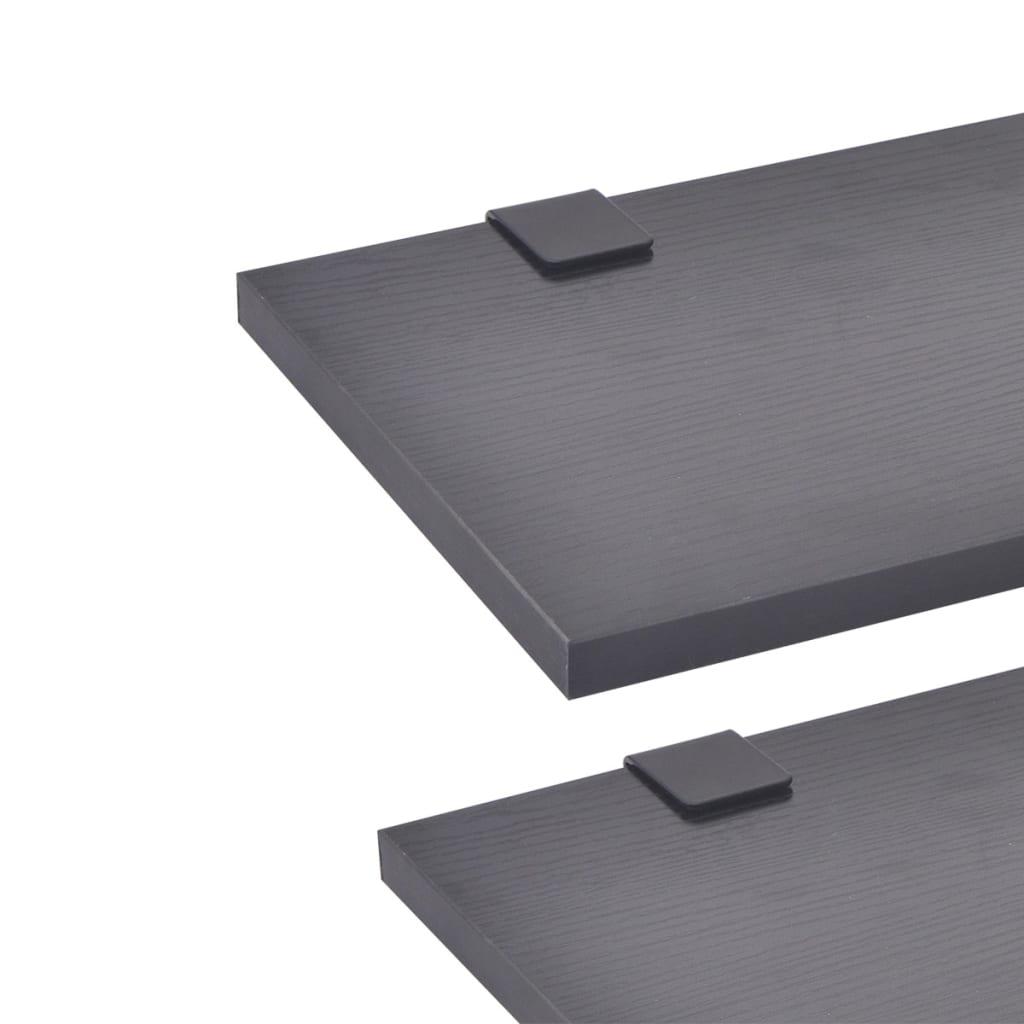 d14e461aaf8 vidaXL -i üheksaosaline vannitoamööbli komplekt, must