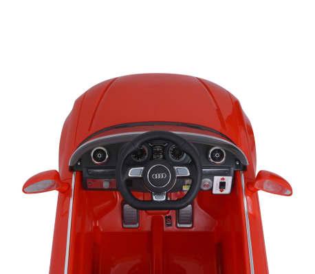 vidaXL Elektrinis vaikiškas automobilis, nuot. valdymas, Audi A3, raudonas[6/10]