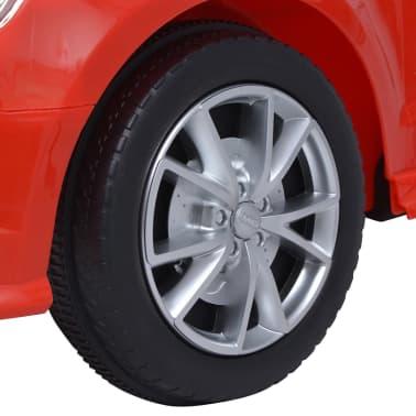 vidaXL Elektrinis vaikiškas automobilis, nuot. valdymas, Audi A3, raudonas[8/10]