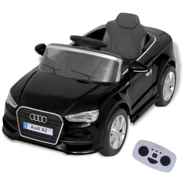 vidaXL Elektrinis vaikiškas automobilis, nuot. vald. Audi A3, raudonas[1/10]