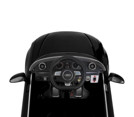 vidaXL Elektrinis vaikiškas automobilis, nuot. vald. Audi A3, raudonas[6/10]