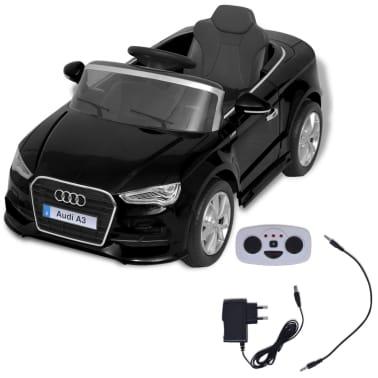 vidaXL Elektrinis vaikiškas automobilis, nuot. vald. Audi A3, raudonas[2/10]