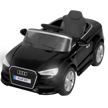 vidaXL Elektrinis vaikiškas automobilis, nuot. vald. Audi A3, raudonas[3/10]