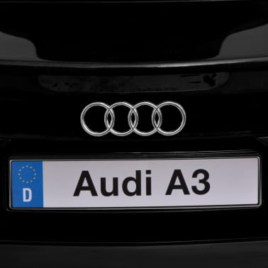 vidaXL Elektrinis vaikiškas automobilis, nuot. vald. Audi A3, raudonas[7/10]