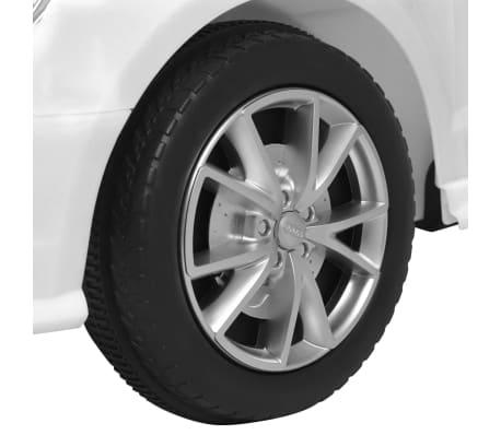 vidaXL Elektrinis vaikiškas automobilis, nuot. valdymas, Audi A3, baltas[8/10]