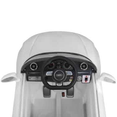 vidaXL Elektrinis vaikiškas automobilis, nuot. valdymas, Audi A3, baltas[6/10]
