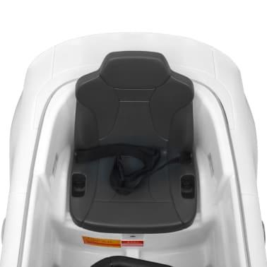 vidaXL Elektrinis vaikiškas automobilis, nuot. valdymas, Audi A3, baltas[9/10]