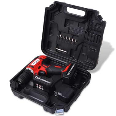 vidaXL Akku-Bohrschrauber-Kit mit 18 V Li-Ionen-Batterien[2/7]