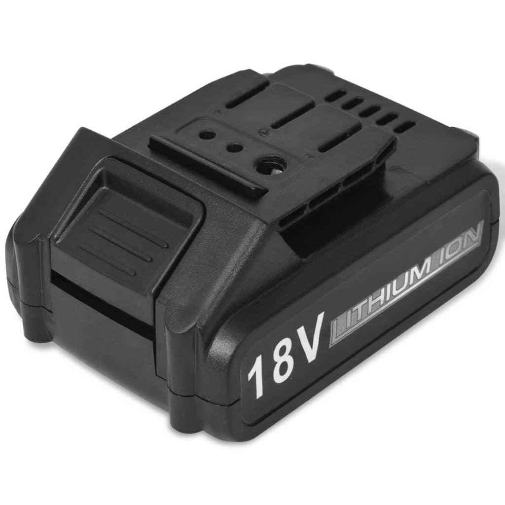 vidaXL Li-ion akumulátorová baterie 18 V 800 mAh