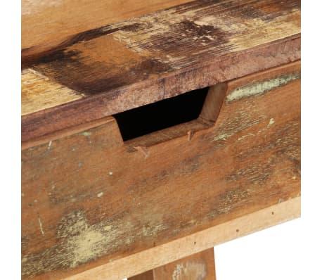 vidaXL Desk Solid Reclaimed Wood[8/8]