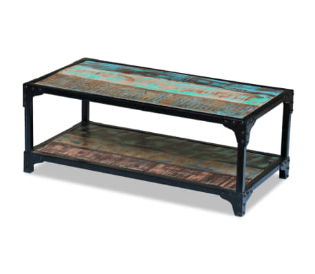 vidaXL Coffee Table Solid Reclaimed Wood[1/8]