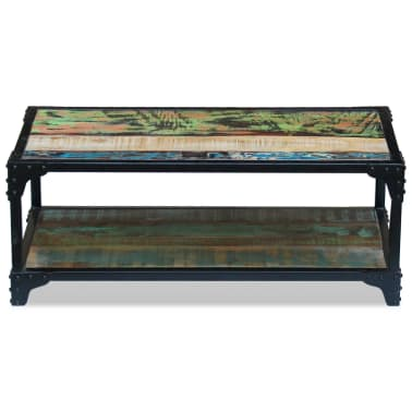 vidaXL Coffee Table Solid Reclaimed Wood[6/8]