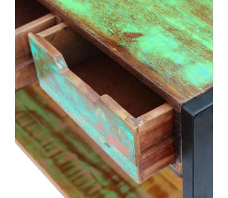 vidaXL Sideboard 3 Drawers Solid Reclaimed Wood[7/8]