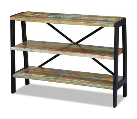 vidaXL Sideboard 3 Shelves Solid Reclaimed Wood[4/8]