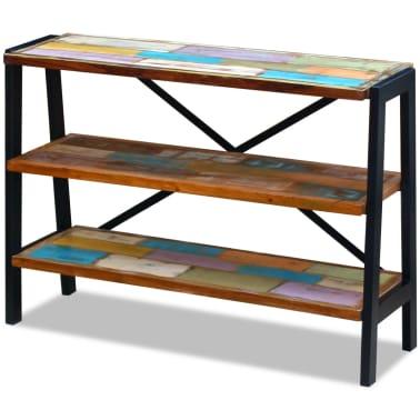 vidaXL Sideboard 3 Shelves Solid Reclaimed Wood[2/8]