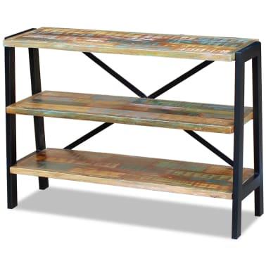 vidaXL Sideboard 3 Shelves Solid Reclaimed Wood[5/8]