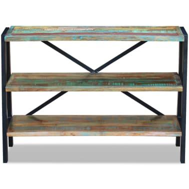vidaXL Sideboard 3 Shelves Solid Reclaimed Wood[6/8]