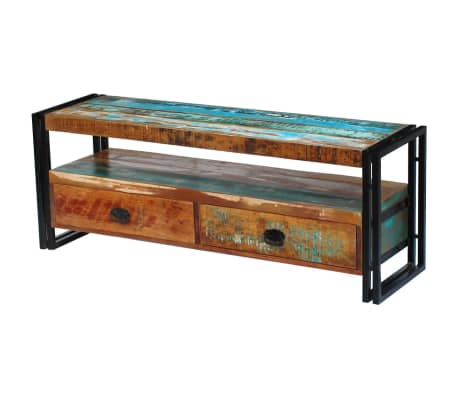 vidaXL TV Cabinet Solid Reclaimed Wood-picture