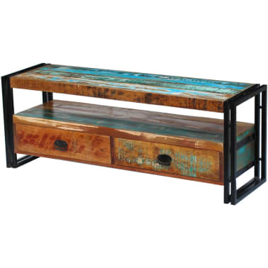 vidaXL TV Cabinet Solid Reclaimed Wood[1/8]