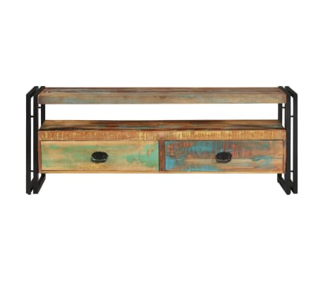 vidaXL TV Cabinet Solid Reclaimed Wood[2/8]