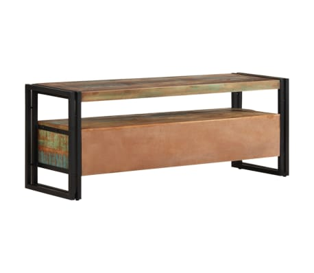 vidaXL TV Cabinet Solid Reclaimed Wood[4/8]
