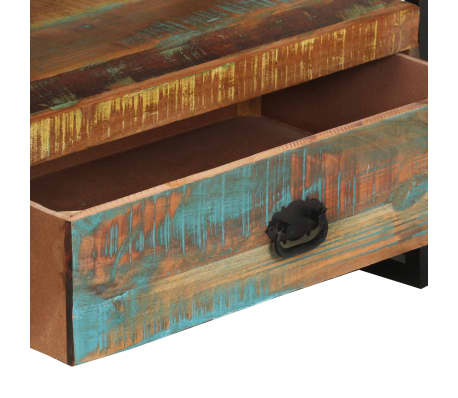 vidaXL TV Cabinet Solid Reclaimed Wood[6/8]