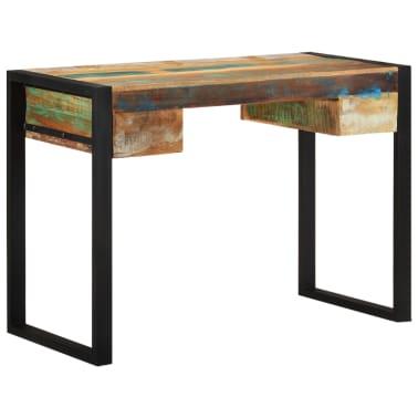 vidaXL Desk Solid Reclaimed Wood[1/8]