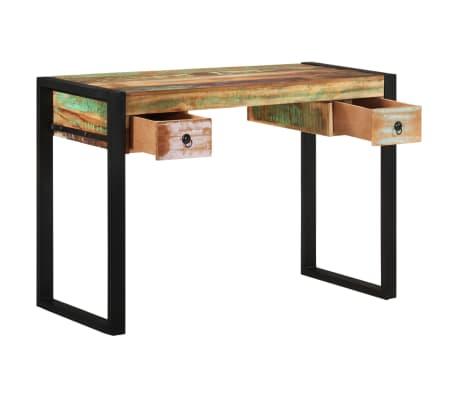 vidaXL Desk Solid Reclaimed Wood[3/8]