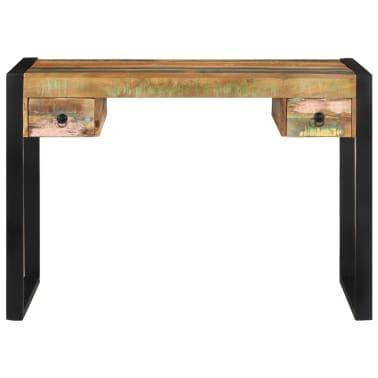 vidaXL Desk Solid Reclaimed Wood[2/8]