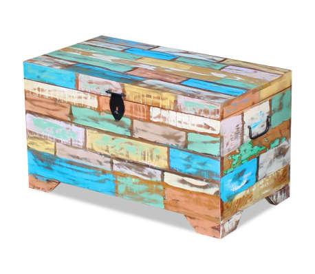 vidaXL Úložná truhla z masivního recyklovaného dřeva[3/9]