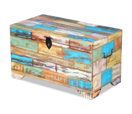 vidaXL Storage Chest Solid Reclaimed Wood[5/9]