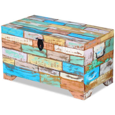 vidaXL Storage Chest Solid Reclaimed Wood[3/9]