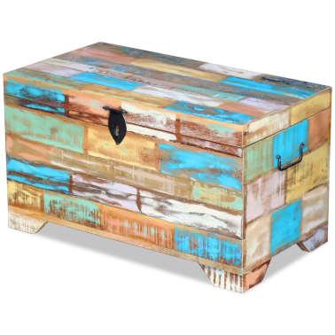 vidaXL Úložná truhla z masivního recyklovaného dřeva[5/9]
