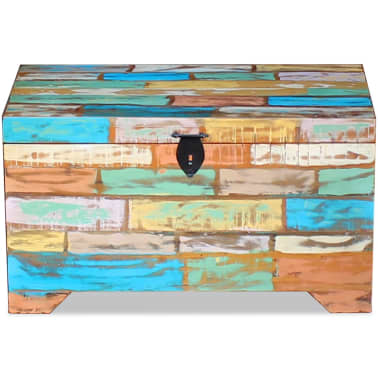vidaXL Storage Chest Solid Reclaimed Wood[6/9]